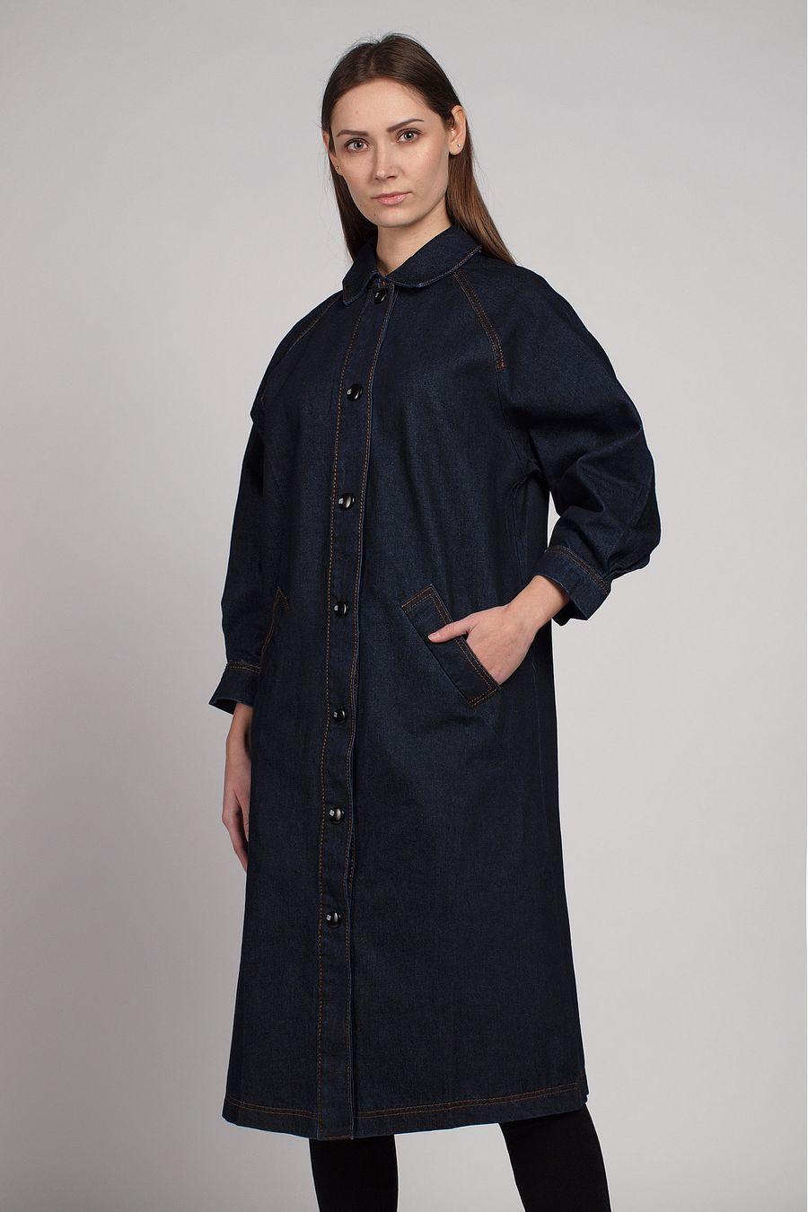 Куртка-френч женская Baccino 6116 джинсовая - фото 2