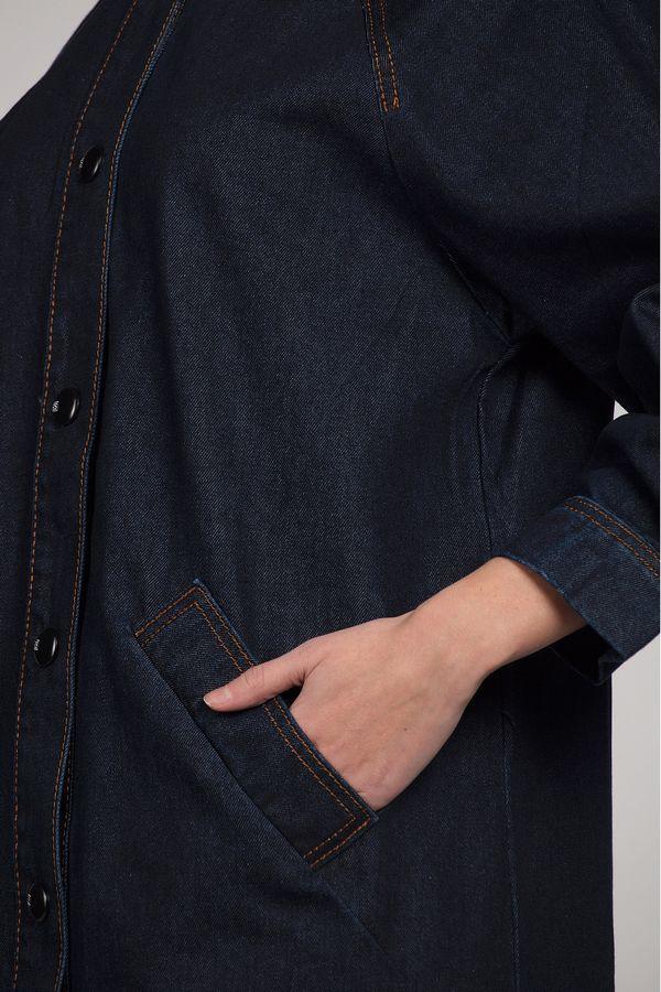 Куртка-френч женская Baccino 6116 джинсовая - фото 4