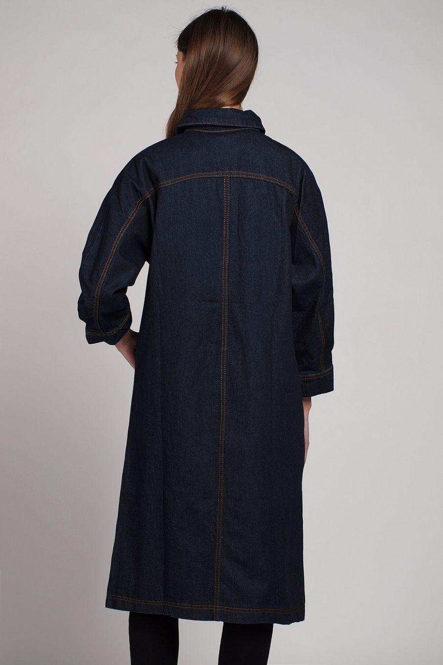 Куртка-френч женская Baccino 6116 джинсовая - фото 3
