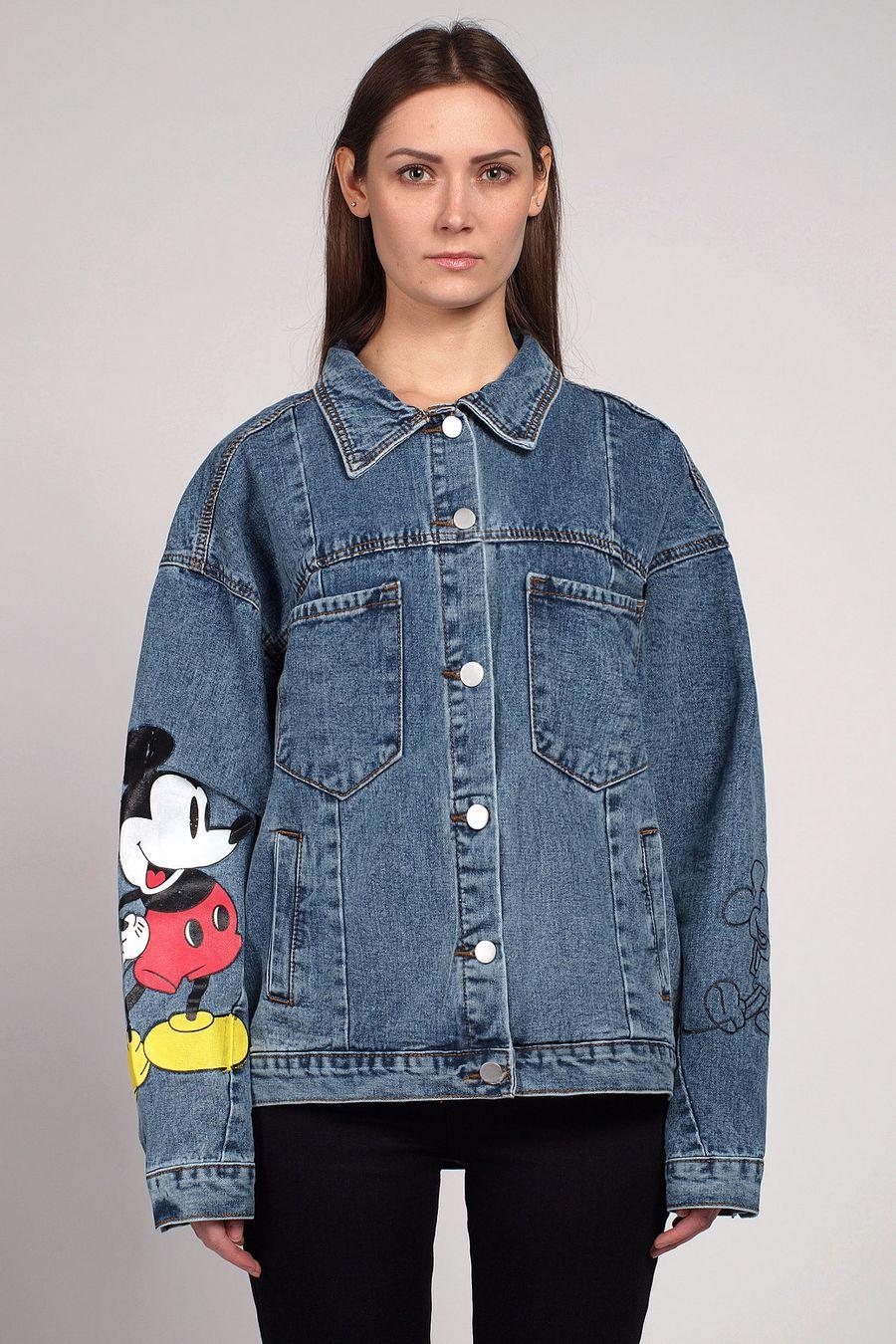 Жакет женский (джинсовка) LRZBS 2006 - фото 1