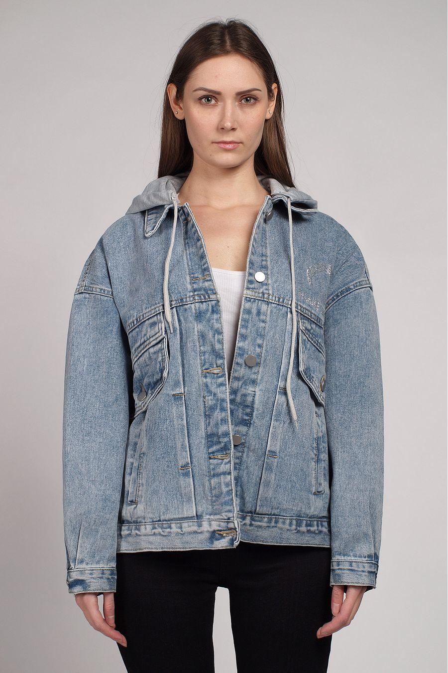 Жакет женский (джинсовка) LRZBS 2058 - фото 1