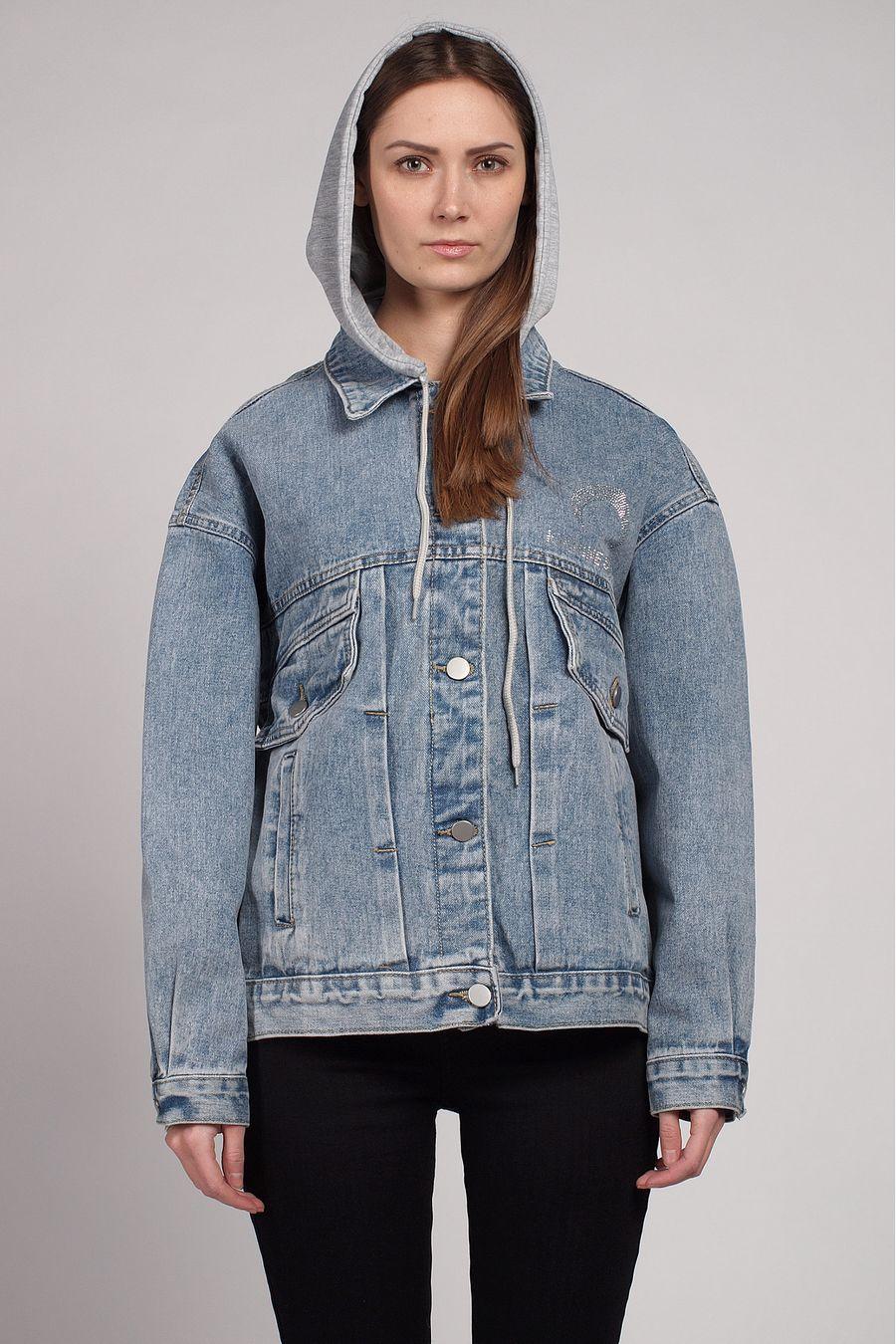 Жакет женский (джинсовка) LRZBS 2058 - фото 2