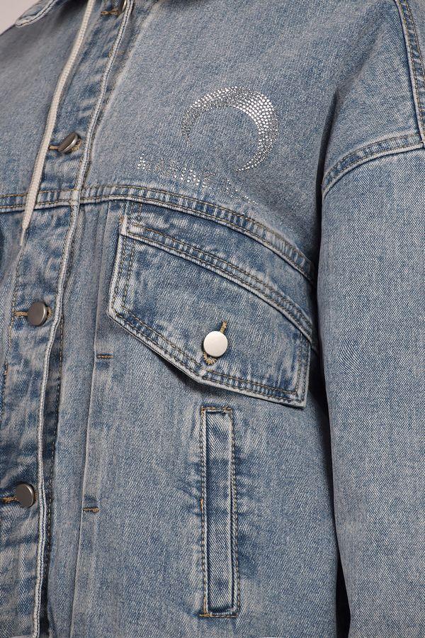Жакет женский (джинсовка) LRZBS 2058 - фото 4