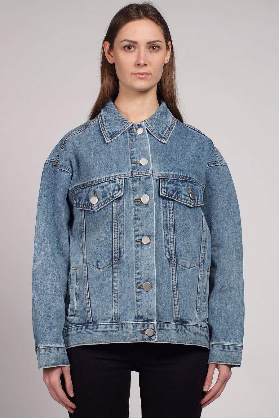 Жакет женский (джинсовка) LRZBS 2026 - фото 2