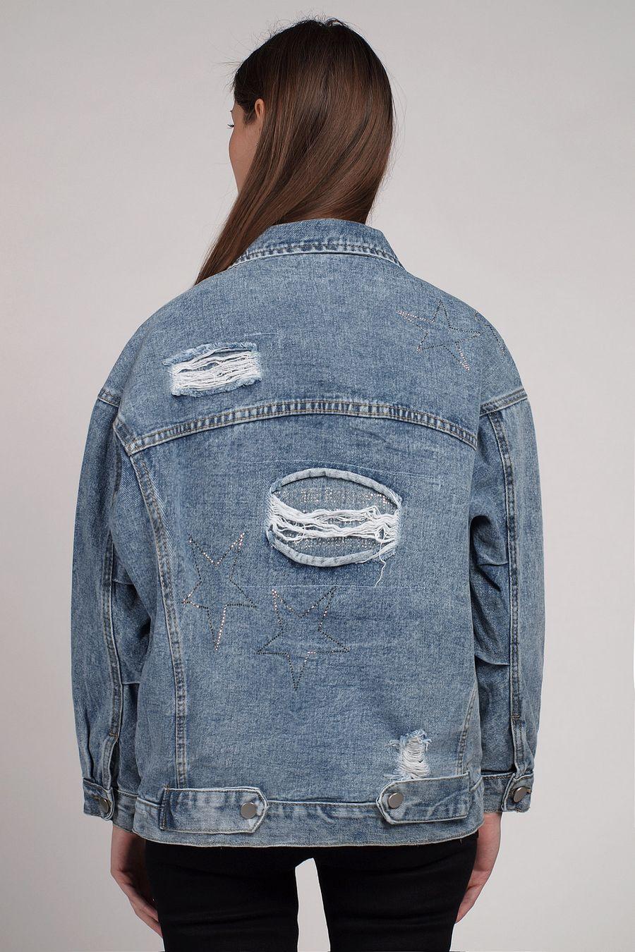 Жакет женский (джинсовка) LRZBS 2059 - фото 3