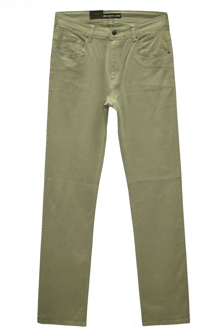 Джинсы мужские Koutons KL-1674 Stretch L.Olive - фото 2