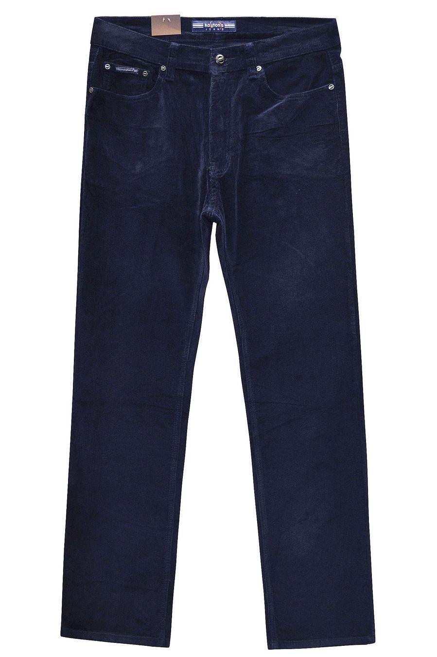 Брюки мужские Koutons KL-8126V Blue-Blue вельветовые - фото 1