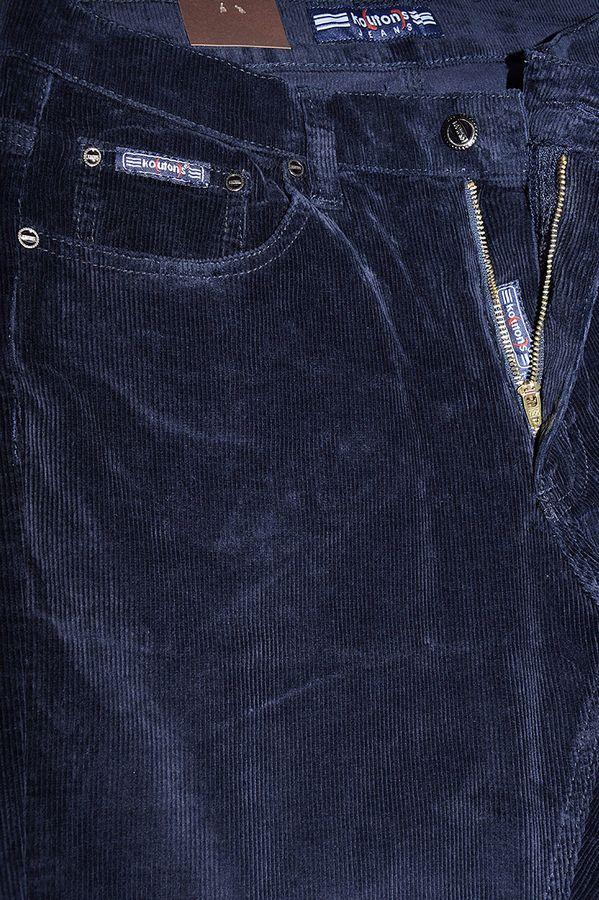 Брюки мужские Koutons KL-8126V Blue-Blue вельветовые - фото 3