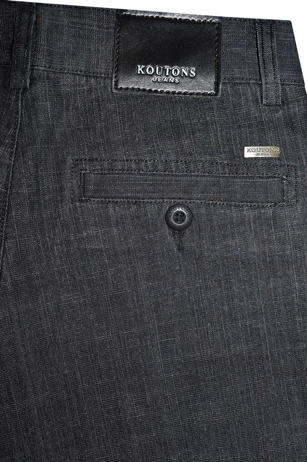 Брюки мужские Koutons 909-Black - фото 3
