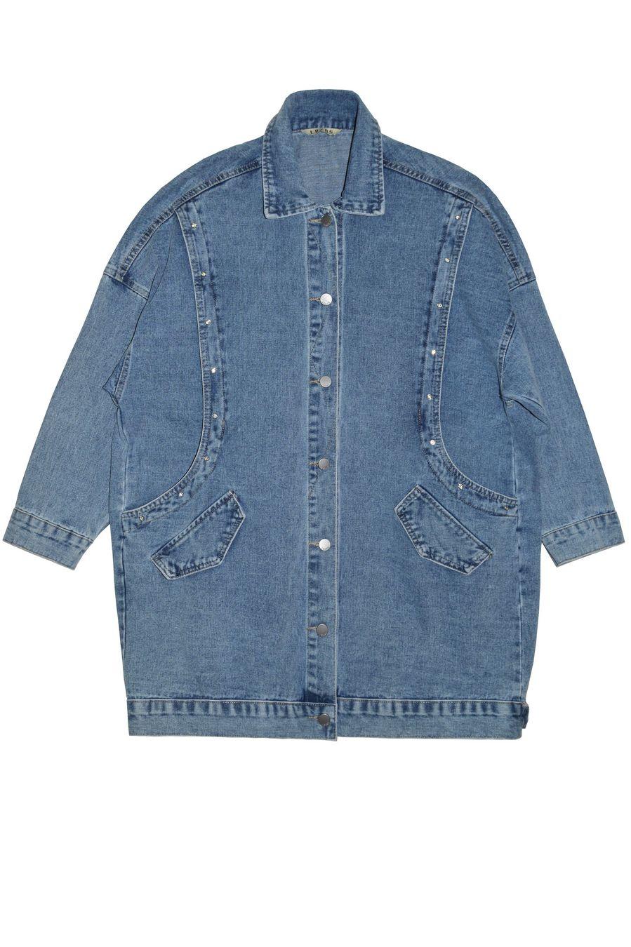 Жакет женский (джинсовка) LRZBS 2066 - фото 1
