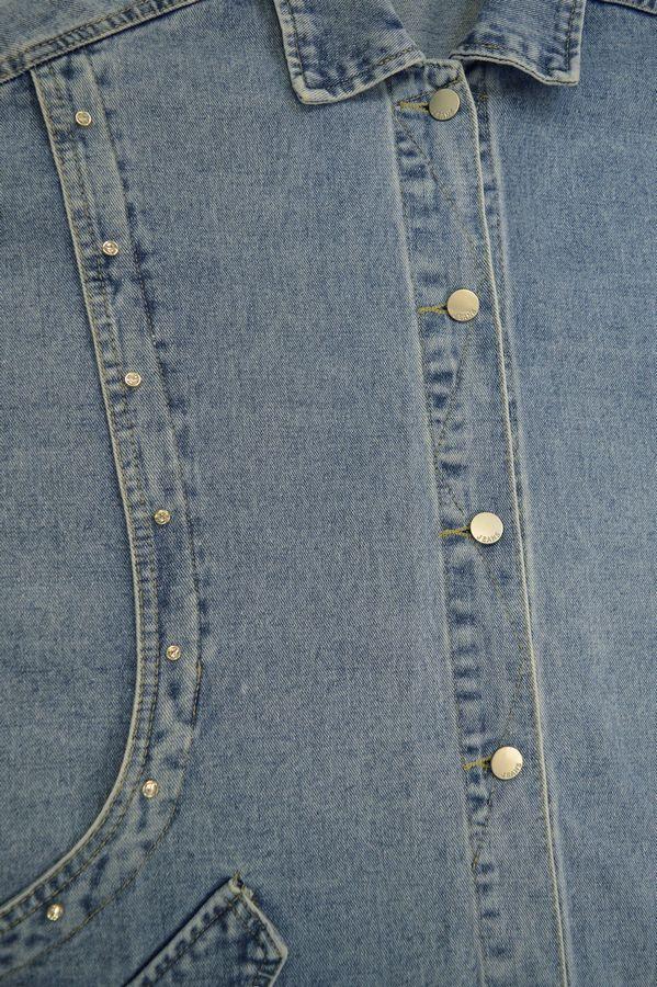Жакет женский (джинсовка) LRZBS 2066 - фото 3