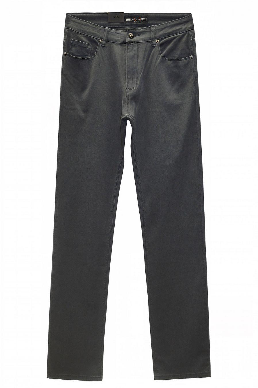 Джинсы мужские Koutons KL-1692 Stretch Grey-Green - фото 2