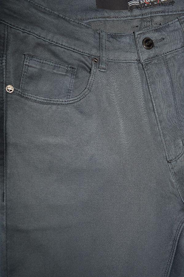 Джинсы мужские Koutons KL-1692 Stretch Grey-Green - фото 4