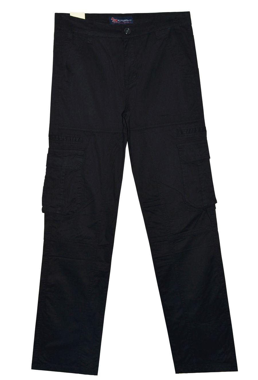 Брюки мужские Machigan M1233B чёрные - фото 1