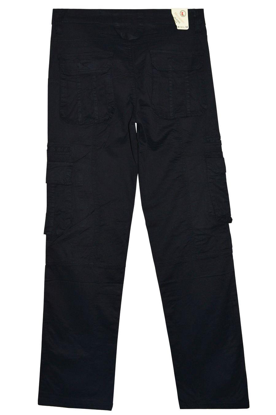 Брюки мужские Machigan M1233B чёрные - фото 2