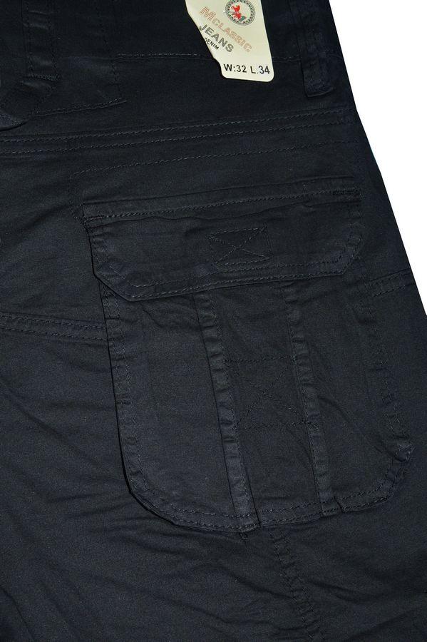 Брюки мужские Machigan M1233B чёрные - фото 4