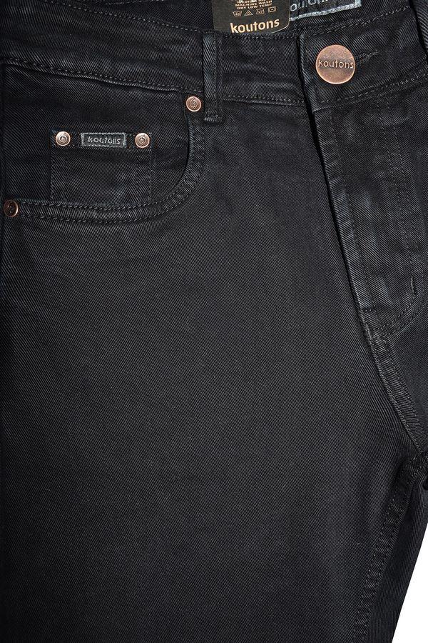 Джинсы мужские Koutons 235-1 Stretch Black - фото 5