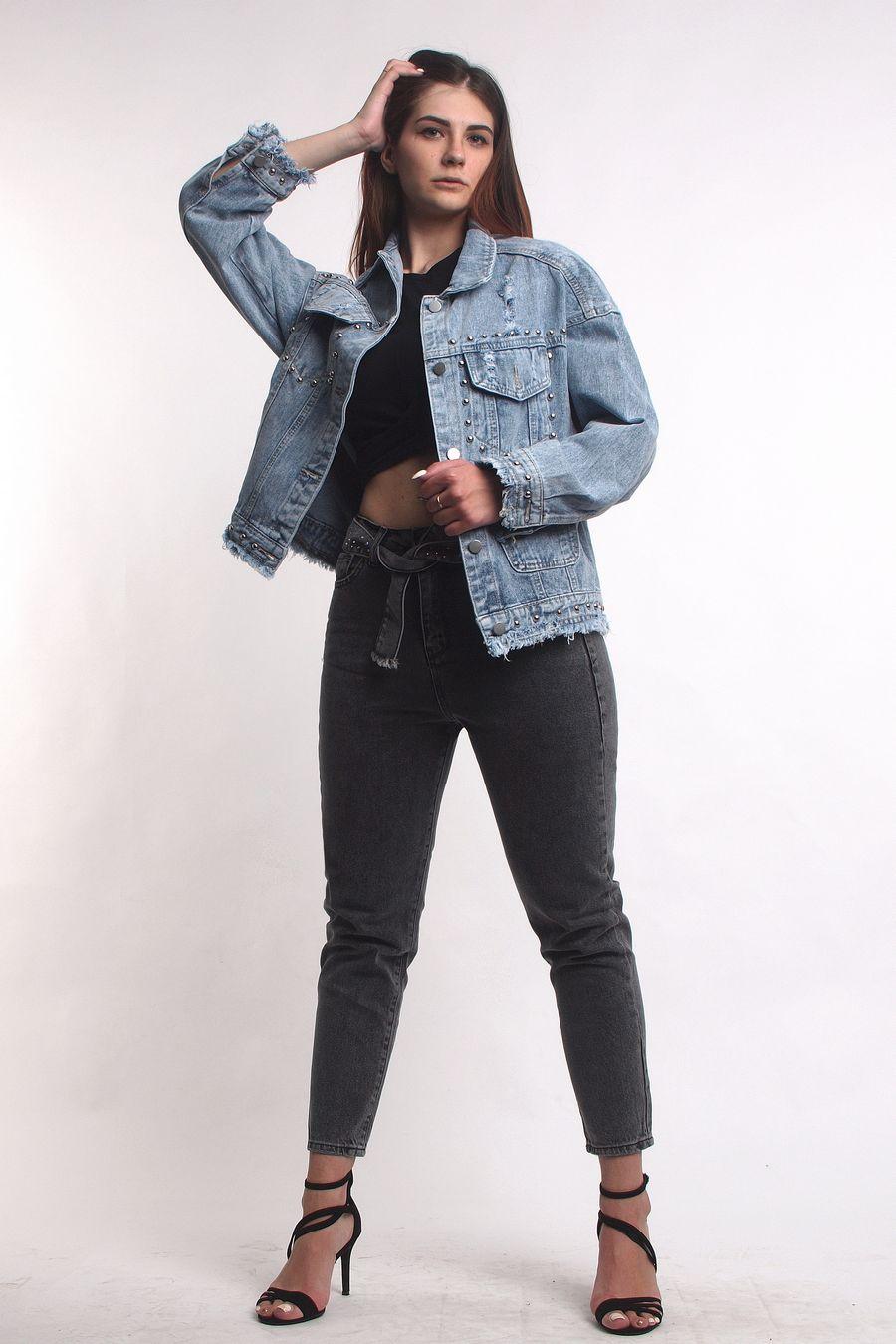 Жакет женский (джинсовка) LRZBS 2019 - фото 1