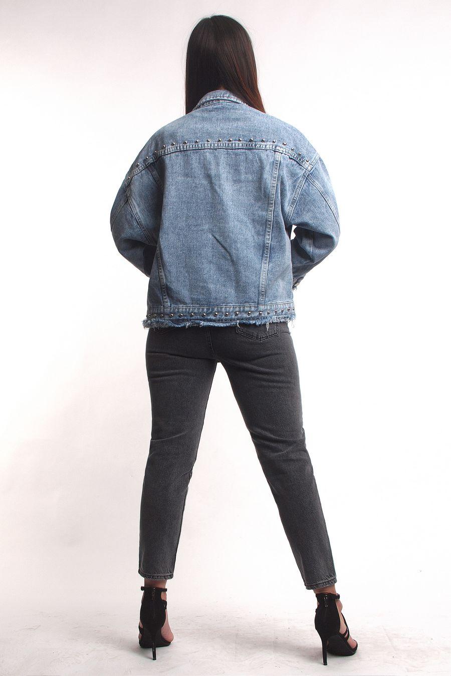 Жакет женский (джинсовка) LRZBS 2019 - фото 2