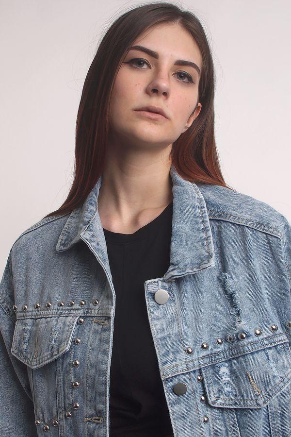 Жакет женский (джинсовка) LRZBS 2019 - фото 3