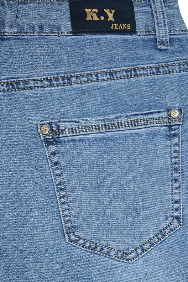 Бриджи женские K.Y Jeans LС429 - фото 4