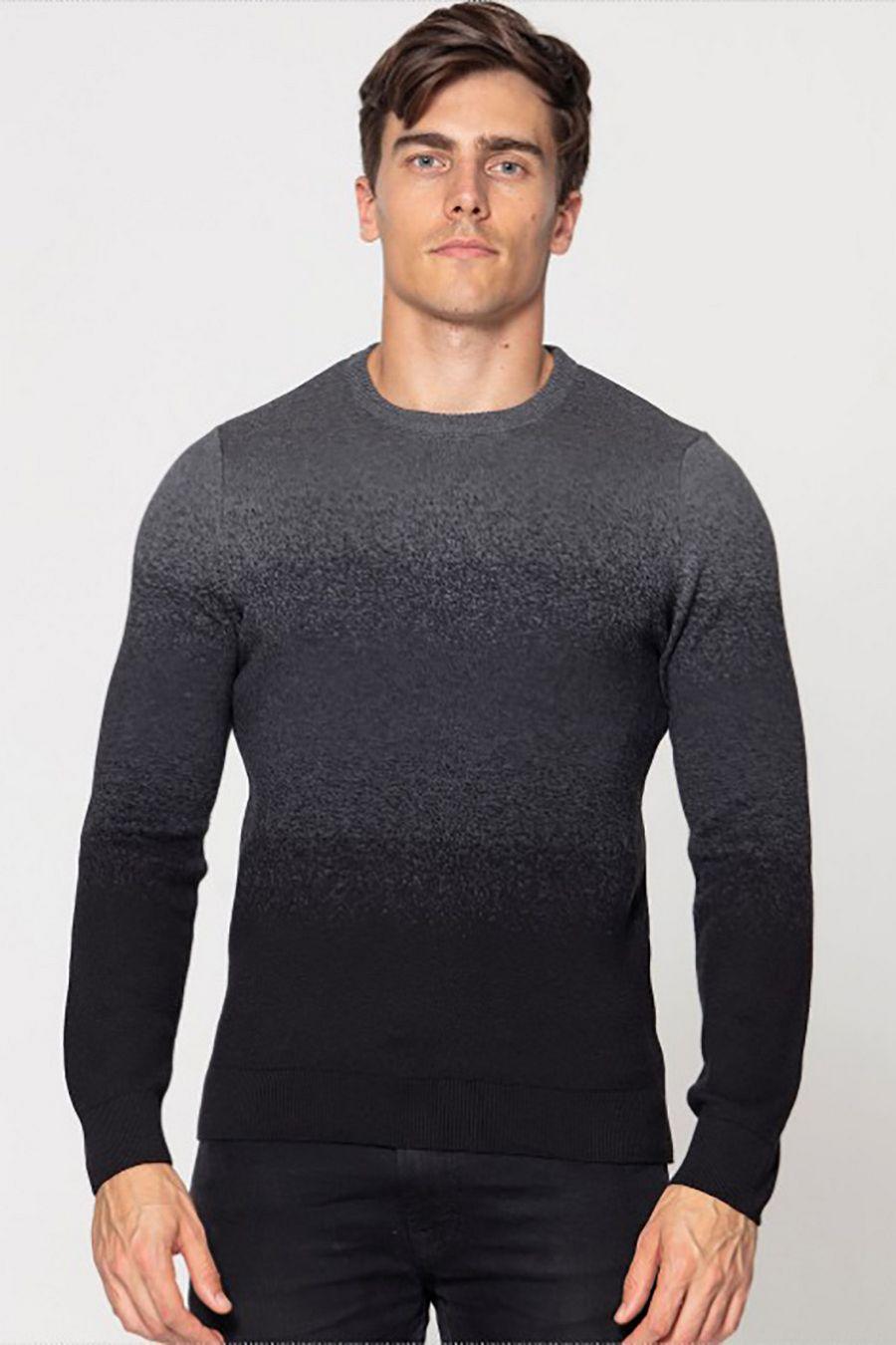 Джемпер (свитер) мужской Pooll Park 201405 Black - фото 1