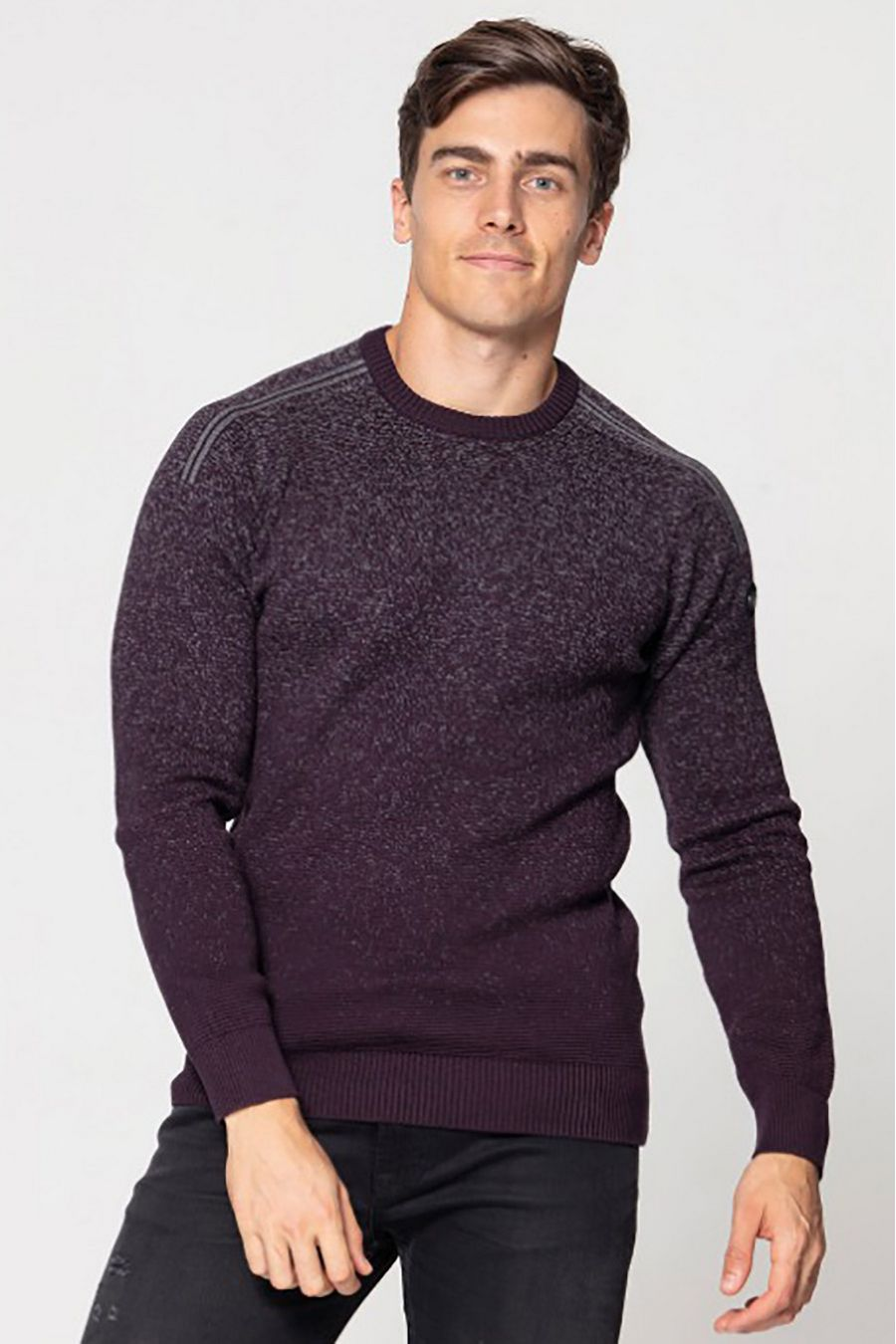 Джемпер (свитер) мужской Pooll Park 201415 Purple - фото 1