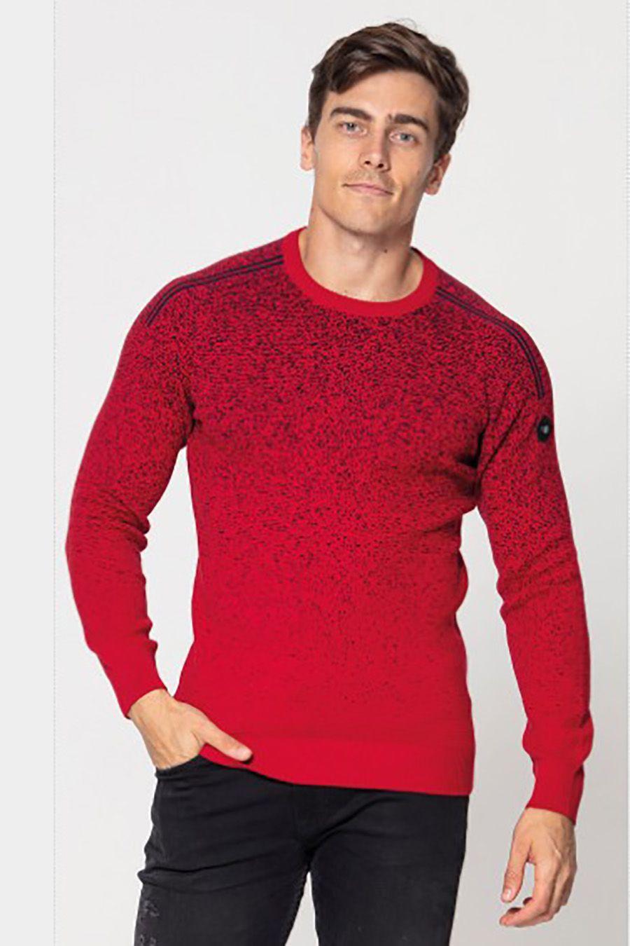 Джемпер (свитер) мужской Pooll Park 201415 Red - фото 1