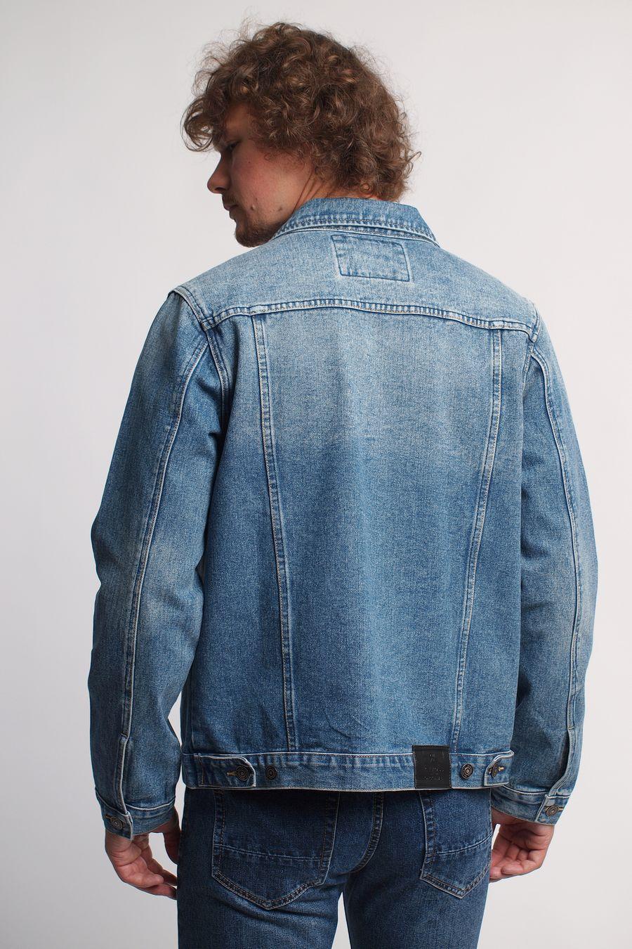Пиджак мужской (джинсовка) R.KROOS 1017 - фото 2