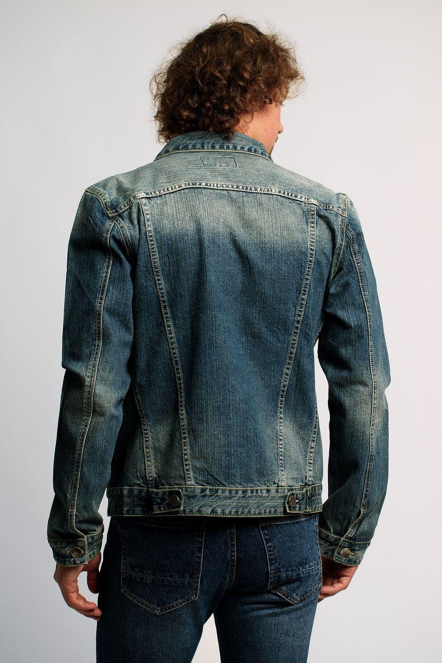Пиджак мужской (джинсовка) Regass 87168/05 - фото 2