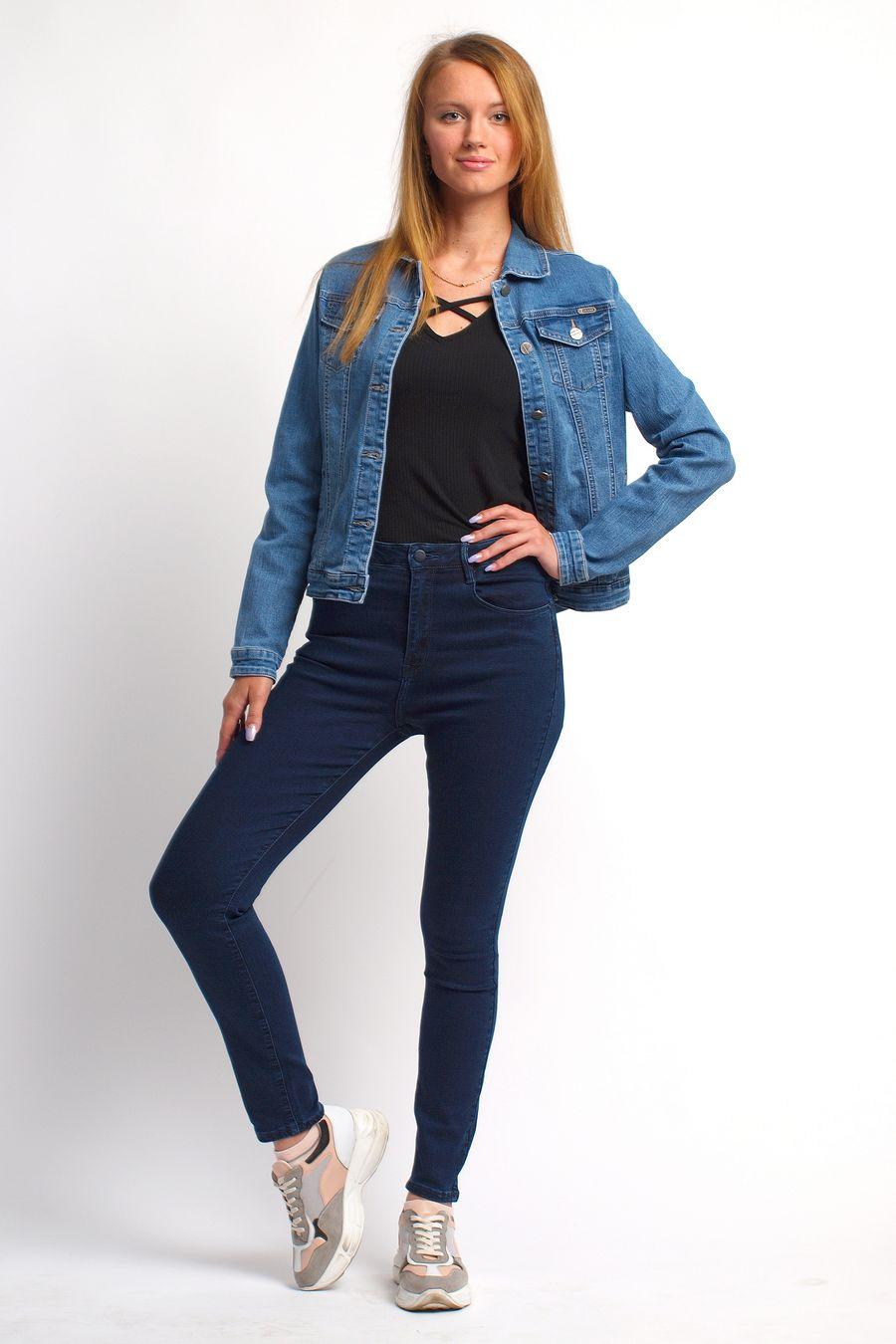 Пиджак женский (джинсовка) Bicstar 2508-AW - фото 2