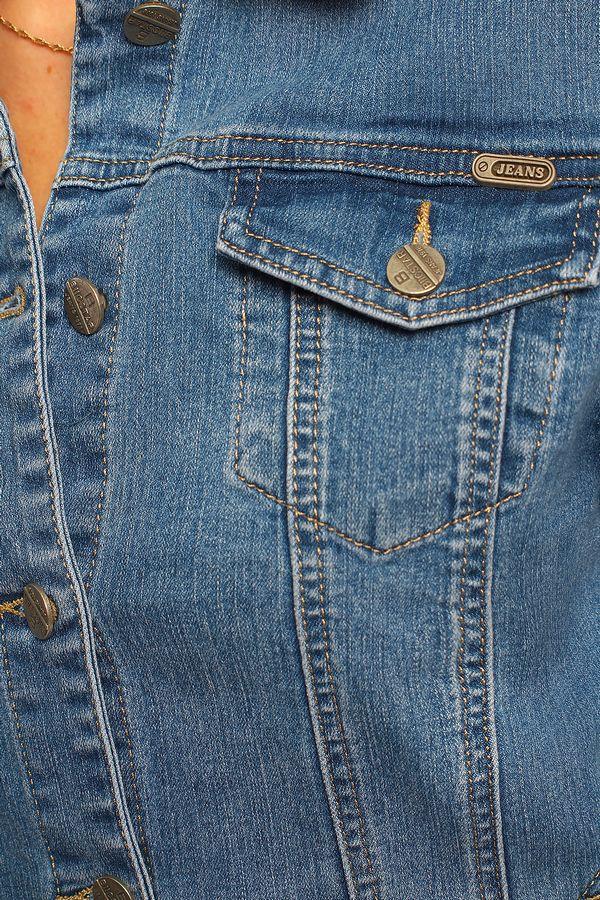 Пиджак женский (джинсовка) Bicstar 2508-AW - фото 4