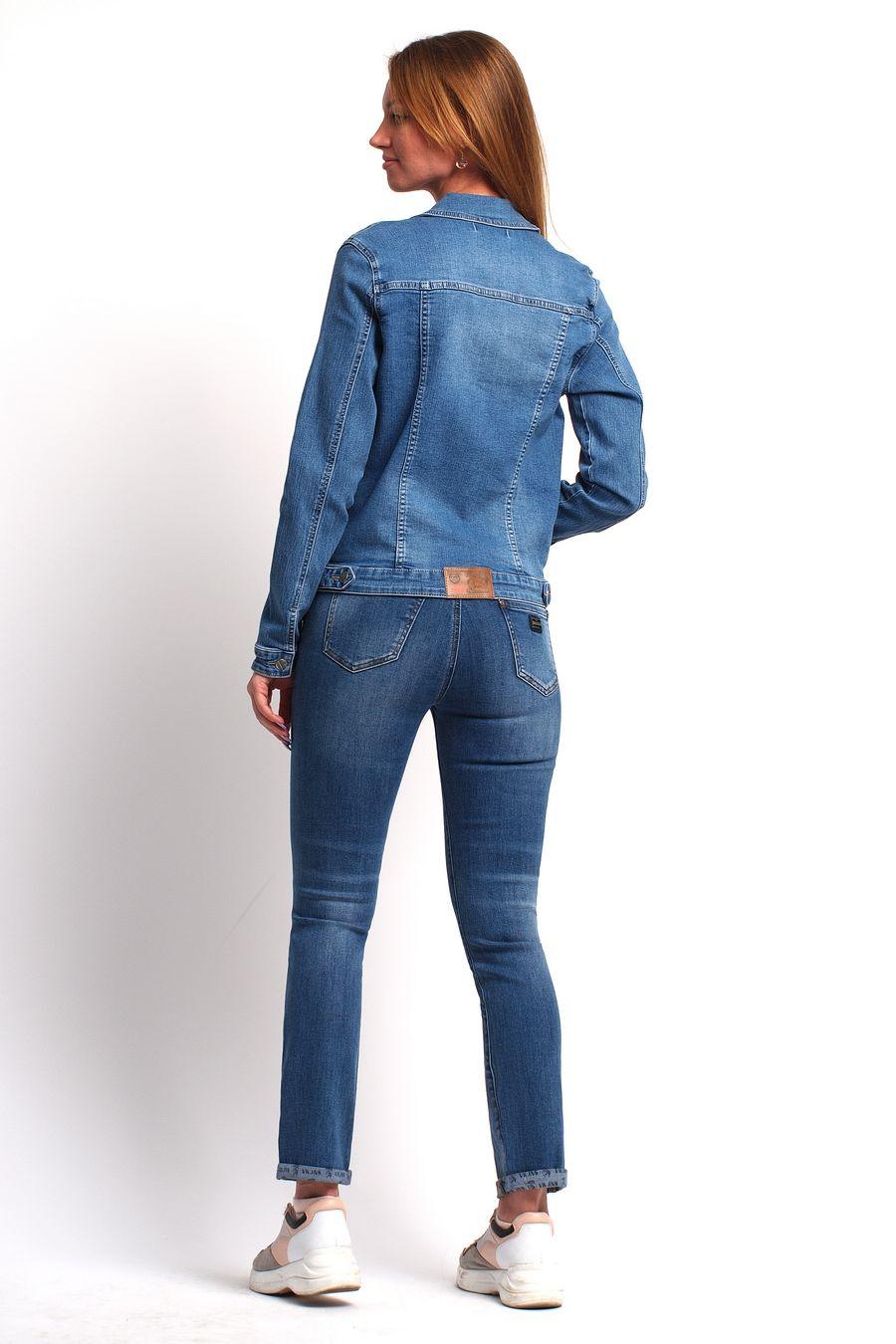 Пиджак женский (джинсовка) Bicstar 2508-AW-2 - фото 3