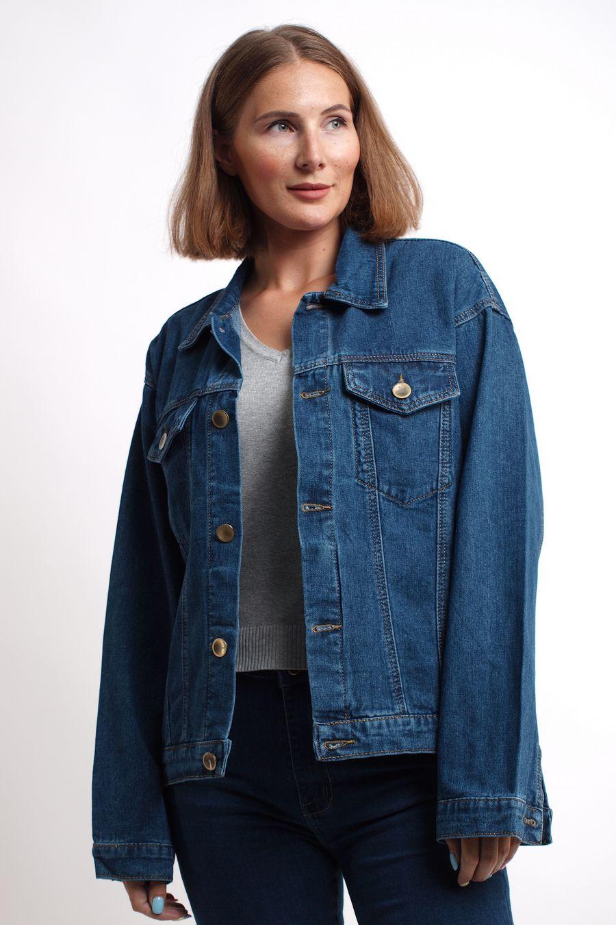 Пиджак женский (джинсовка) K.Y Jeans 292 - фото 4