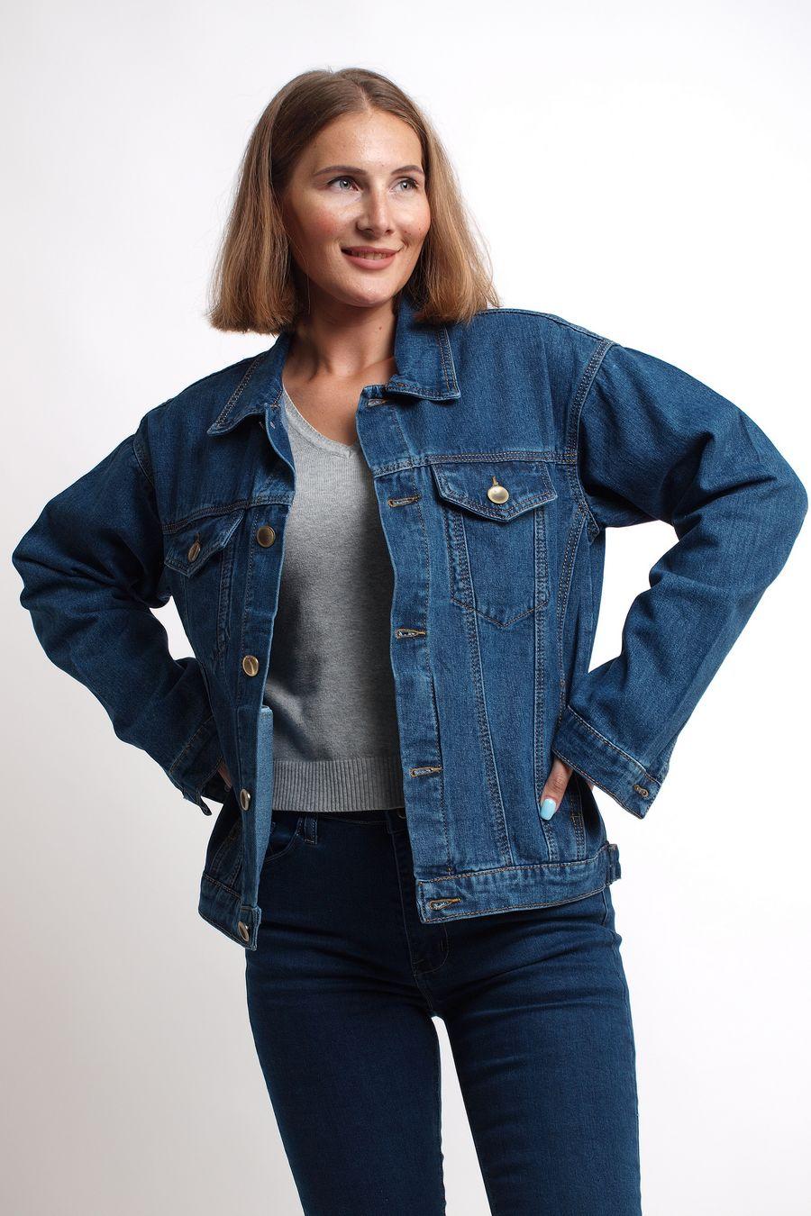 Пиджак женский (джинсовка) K.Y Jeans 292 - фото 1