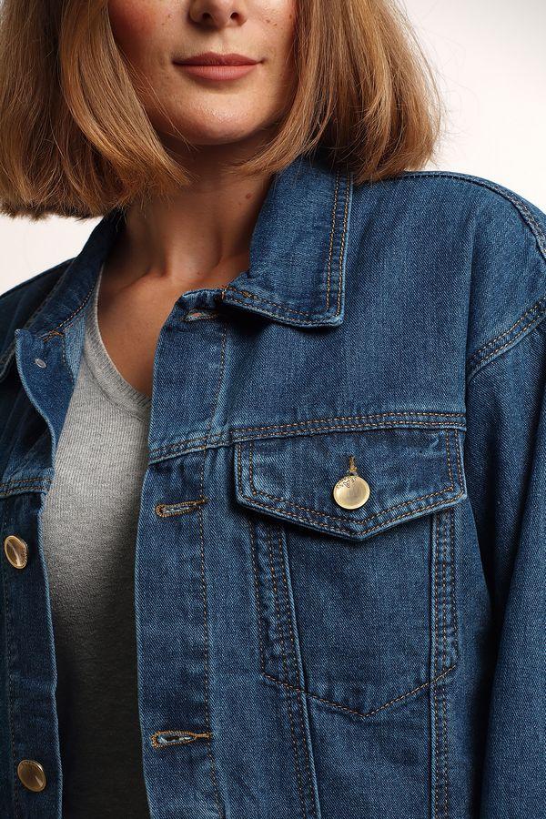 Пиджак женский (джинсовка) K.Y Jeans 292 - фото 3