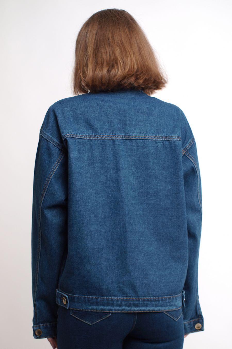 Пиджак женский (джинсовка) K.Y Jeans 292 - фото 6