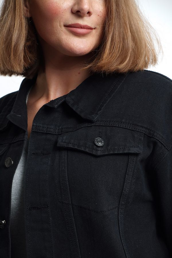 Куртка женская K.Y Jeans 2162 - фото 4