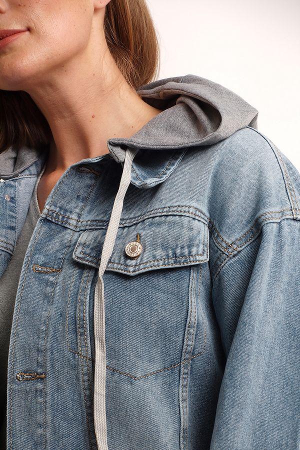 Куртка женская K.Y Jeans YF213 - фото 4