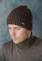 Шапка мужская John Trigger 8.718-4 темно-коричневая/светло-коричневая