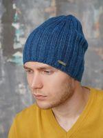 Шапка мужская John Trigger 8.727-5 синяя