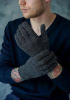 Перчатки мужские John Trigger 8.720-1 черные/серые