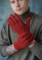 Перчатки мужские John Trigger 8.720-2 оранжевые/бордовые