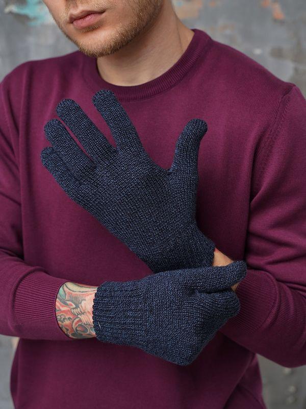 Перчатки мужские John Trigger 8.720-3 темно-синие/индиго - фото 1