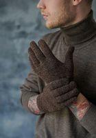 Перчатки мужские John Trigger 8.720-4 коричневые/светло-коричневые
