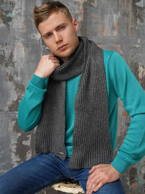 Шарф мужской John Trigger 8.728-11 серый - фото 1