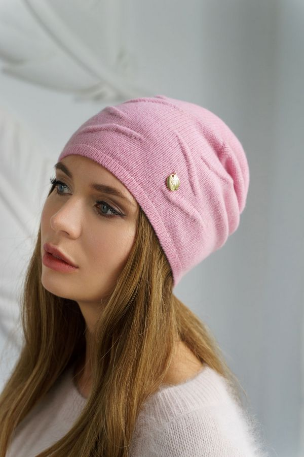 Шапка женская Mira Adriana 7.550-04 розовая - фото 1