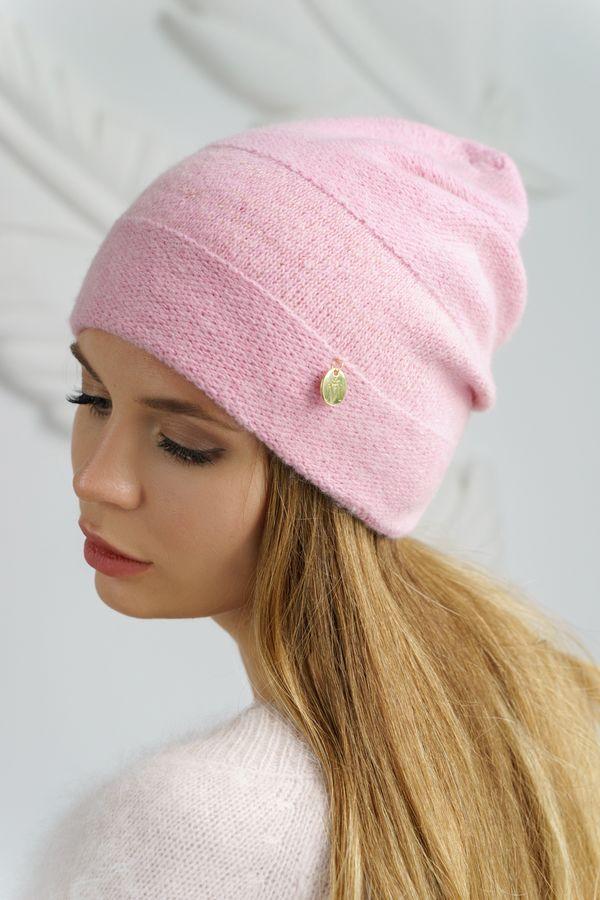 Шапка женская Mira Adriana 7.556-04 розовая - фото 1