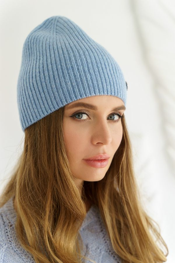 Шапка женская Mira Adriana 7.559-03 голубая - фото 1