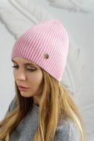 Шапка женская Mira Adriana 7.559-04 розовая